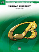 Cover icon of String Pursuit (COMPLETE) sheet music for string orchestra by Ralph Ford, easy/intermediate skill level