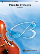 Cover icon of Poem for Orchestra (COMPLETE) sheet music for full orchestra by John Tatgenhorst, intermediate skill level