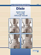 Cover icon of Dixie sheet music for string orchestra (full score) by Anonymous, easy skill level