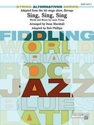 Cover icon of Sing, Sing, Sing (COMPLETE) sheet music for string orchestra by Louis Prima, intermediate skill level