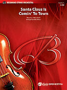 Cover icon of Santa Claus Is Comin' to Town sheet music for string orchestra (full score) by J. Fred Coots and Bob Cerulli, easy/intermediate skill level