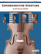 Cover icon of Commemorative Overture sheet music for string orchestra (full score) by Bob Phillips, easy/intermediate skill level