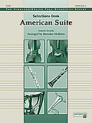 Cover icon of Selections from American Suite (COMPLETE) sheet music for full orchestra by Antonin Dvorak, Antonin Dvorak and Brendan McBrien, classical score, intermediate skill level