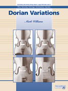 Cover icon of Dorian Variations sheet music for string orchestra (full score) by Mark Williams, beginner skill level