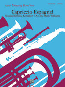 Cover icon of Capriccio Espagnol (COMPLETE) sheet music for concert band by Nikolai Rimsky-Korsakov, Nikolai Rimsky-Korsakov and Mark Williams, classical score, easy/intermediate skill level