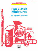 Two Classic Miniatures for concert band (full score) - classical concert band sheet music