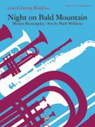 Cover icon of Night on Bald Mountain sheet music for concert band (full score) by Modest Petrovic Mussorgsky, Modest Petrovic Mussorgsky and Mark Williams, classical score, easy/intermediate skill level