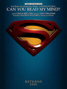 Cover icon of Can You Read My Mind? (Love Theme from Superman) sheet music for piano, voice or other instruments by John Williams, easy/intermediate skill level