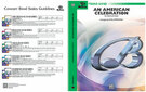 Cover icon of An American Celebration (COMPLETE) sheet music for concert band by Anonymous and Carl Strommen, easy skill level