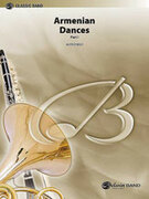 Cover icon of Armenian Dances, Part I sheet music for concert band (full score) by Alfred Reed, advanced skill level