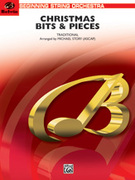 Cover icon of Christmas Bits and Pieces (COMPLETE) sheet music for string orchestra by Anonymous and Michael Story, beginner skill level
