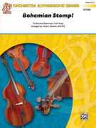 Cover icon of Bohemian Stomp! (COMPLETE) sheet music for string orchestra by Anonymous and Sandra Dackow, beginner skill level