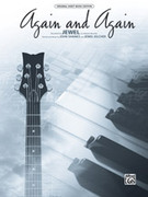 Cover icon of Again and Again sheet music for piano, voice or other instruments by Jewel, easy/intermediate skill level