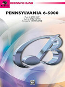 Cover icon of Pennsylvania 6-5000 (COMPLETE) sheet music for concert band by Jerry Gray and Carl Sigman, beginner skill level
