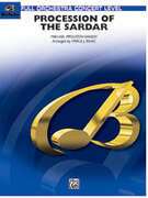 Cover icon of Procession of the Sardar sheet music for full orchestra (full score) by Nicolai Ippolitov-Ivanov, classical score, intermediate skill level