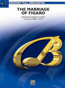 Cover icon of The Marriage of Figaro -- Overture sheet music for full orchestra (full score) by Wolfgang Amadeus Mozart and Merle Isaac, classical score, intermediate skill level
