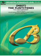 Cover icon of (Meet) The Flintstones sheet music for full orchestra (full score) by Anonymous and Bob Cerulli, easy/intermediate skill level