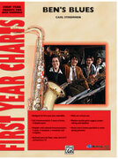 Cover icon of Ben's Blues (COMPLETE) sheet music for jazz band by Carl Strommen, beginner skill level
