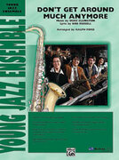 Cover icon of Don't Get Around Much Anymore sheet music for jazz band (full score) by Duke Ellington, easy skill level