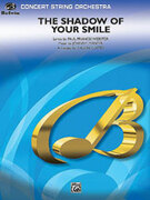 Cover icon of The Shadow of Your Smile (COMPLETE) sheet music for string orchestra by Johnny Mandel, Paul Francis Webster and Calvin Custer, intermediate skill level