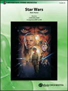 Cover icon of Star Wars (COMPLETE) sheet music for string orchestra by John Williams, classical score, intermediate skill level