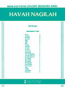 Cover icon of Havah Nagilah (COMPLETE) sheet music for full orchestra by Anonymous, intermediate skill level