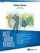 Cover icon of Peter Gunn sheet music for jazz band (full score) by Henry Mancini, intermediate skill level