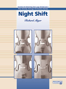 Cover icon of Night Shift sheet music for string orchestra (full score) by Richard Meyer, beginner skill level