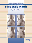 Cover icon of First Scale March sheet music for string orchestra (full score) by Mark Williams, beginner skill level