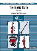 Cover icon of The Magic Flute sheet music for full orchestra (full score) by Wolfgang Amadeus Mozart, classical score, beginner skill level