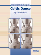 Cover icon of Celtic Dance sheet music for string orchestra (full score) by Mark Williams, beginner skill level