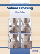 Cover icon of Sahara Crossing sheet music for string orchestra (full score) by Richard Meyer, beginner skill level