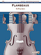Cover icon of Flambeaux (COMPLETE) sheet music for string orchestra by Doug Spata, easy/intermediate skill level