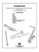 Cover icon of Exsultate Deo sheet music for Choral Pax (full score) by Sally K. Albrecht, easy/intermediate skill level