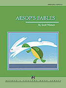 Cover icon of Aesop's Fables sheet music for concert band (full score) by Scott Watson, intermediate skill level