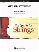 Cover icon of Get Smart Theme (COMPLETE) sheet music for orchestra by Larry Moore, intermediate skill level