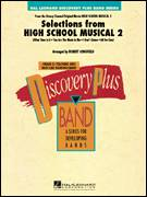 Cover icon of Selections from High School Musical 2 (COMPLETE) sheet music for concert band by Robert Longfield, intermediate skill level