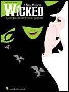 Cover icon of Popular sheet music for piano solo (big note book) by Stephen Schwartz and Wicked (Musical), easy piano (big note book)