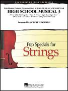 Cover icon of High School Musical 3 (COMPLETE) sheet music for orchestra by Robert Longfield, intermediate skill level