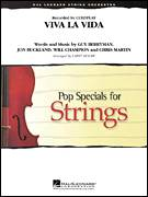 Cover icon of Viva La Vida (COMPLETE) sheet music for orchestra by Larry Moore, Chris Martin, Guy Berryman, Jon Buckland, Will Champion and Coldplay, intermediate skill level