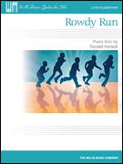 Cover icon of Rowdy Run sheet music for piano solo (elementary) by Randall Hartsell, classical score, beginner piano (elementary)