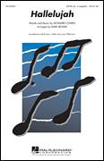 Cover icon of Hallelujah sheet music for choir (SSA: soprano, alto) by Leonard Cohen, intermediate skill level