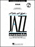 Cover icon of Four (COMPLETE) sheet music for jazz band by Miles Davis and John Berry, intermediate skill level