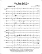 Cover icon of God Bless The U.S.A (with America, The Beautiful) (COMPLETE) sheet music for orchestra/band (Orchestra) by Keith Christopher, intermediate skill level
