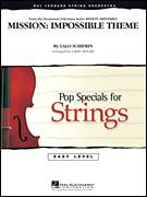 Cover icon of Mission: Impossible Theme (COMPLETE) sheet music for orchestra by Lalo Schifrin and Larry Moore, intermediate skill level