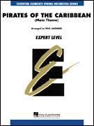 Cover icon of Pirates Of The Caribbean (Main Theme) (COMPLETE) sheet music for orchestra by Klaus Badelt, Larry Moore and Paul Lavender, intermediate skill level