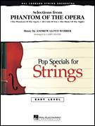 Cover icon of Selections from Phantom Of The Opera (COMPLETE) sheet music for orchestra by Andrew Lloyd Webber and Larry Moore, intermediate skill level