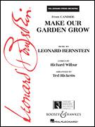 Cover icon of Make Our Garden Grow (from Candide) (COMPLETE) sheet music for orchestra by Leonard Bernstein and Ted Ricketts, intermediate skill level