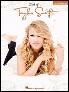 Cover icon of Teardrops On My Guitar sheet music for piano solo (big note book) by Taylor Swift and Liz Rose, easy piano (big note book)