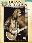 Cover icon of Little Martha sheet music for guitar (tablature, play-along) by Allman Brothers Band, The Allman Brothers Band and Duane Allman, intermediate skill level